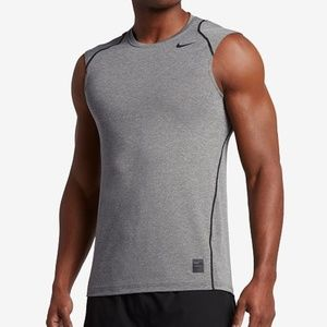 Nike Shirts - ⭕ Men's Nike Pro Dri-Fit Fitted Sleeveless Shirt